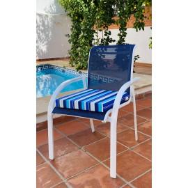 Cojínes Asiento Confort Desenfundable  45x45x6 cm