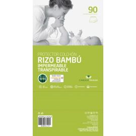 Protector de colchón rizo gama bambú