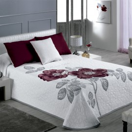 ROSE Jacquard bedspread