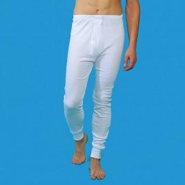 Calzón largo térmico caballero 100% algodón afelpado