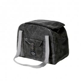 elegant SILVER yagu bag
