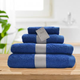 Toalla Pure turquesa 100% algodón