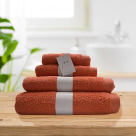 Toalla Pure amapola 100% algodón