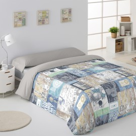 Acordes duo Nordic Cover 144 thread count 50% Cotton/50% Poly. Digital print
