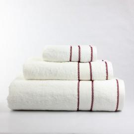 juego toallas 3 piezas picueta100% algodón 600 gr/m2