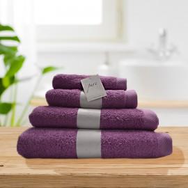 Pure lavender 100% cotton towel