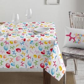 Coated Tablecloth DIG-070 by Agatha Ruiz de la Prada