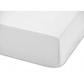 Adjustable hospitality bottom bed sheet 50% cotton 50% polyester