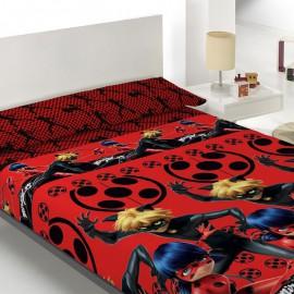 Lady bug red bed sheet set 105cm