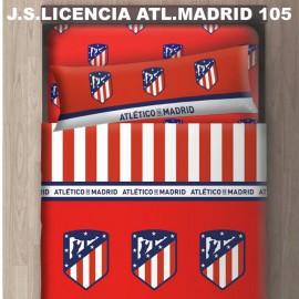 Atl. Madrid bed sheet set 105cm