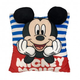 """""""MICKEY 4"""" CUSHION WITH APPLICATION"""