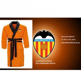 Orange Valencia C.F. Adults BATHROBE