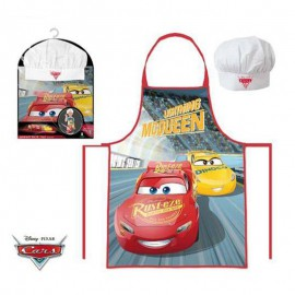 Cars APRON AND COOKING HAT