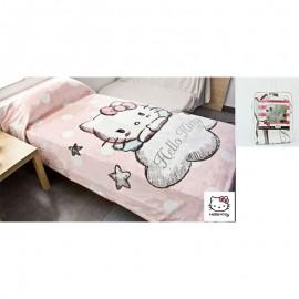 Hello Kitty mink blanket 160x240 (90cm bed)