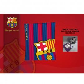 Barcelona coraline blanket 130x160